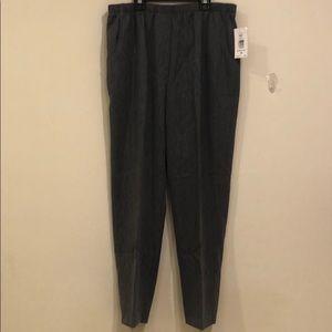 Alia women slacks grey size 18